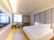 全季安庆人民路步行街酒店360全景图